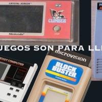Los juegos son para llevar (I): de la prehistoria a 1989