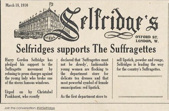selfridges-supports-the-suffragettes