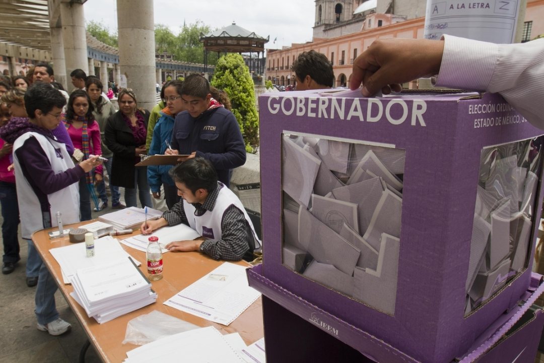 Elecciones a Gobernador en el Estado de México