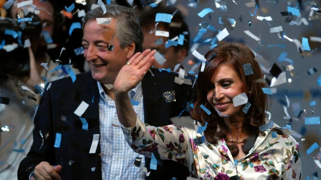 Cristina Fernandez de Kirchner, Nestor Kirchner